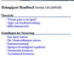 Bahngigant-Handbuch (deutsch)