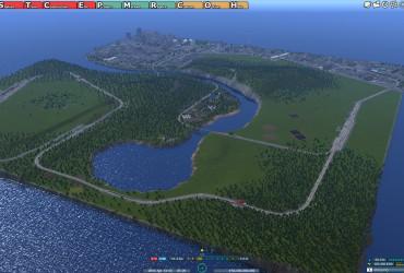 Inselstaat zum weiterbasteln