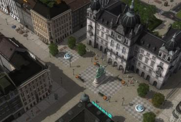 Fiktive XL-Stadt: Uhlerborn Version 2